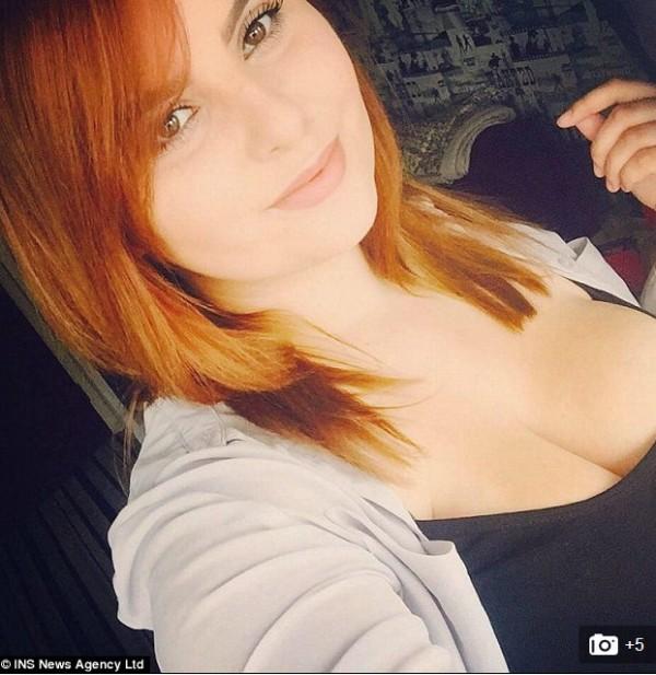 格拉尼托因胸部太大感到非常困擾,便在網上發起募款活動,希望廣大的網友能資助她做縮胸手術。(圖擷自dailymail)