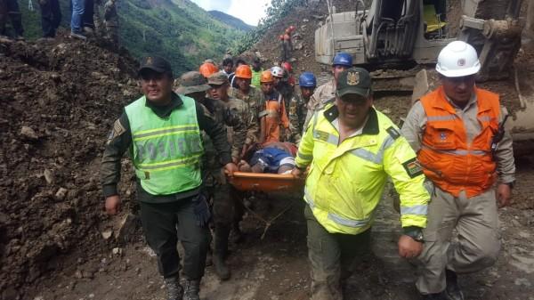 玻利維亞暴雨釀災,目前已知16死。(歐新社)