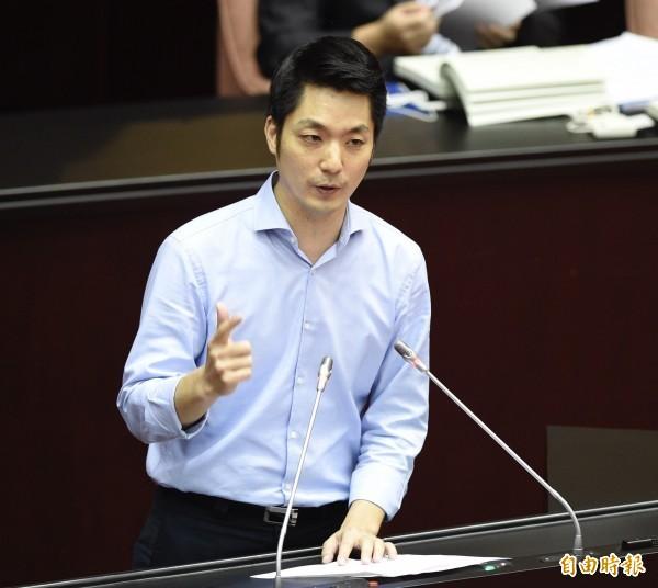 國民黨立委蔣萬安今早重申,他反對一國兩制,但認同九二共識存在,而九二共識的核心是一中各表,一中是中華民國,基礎是中華民國憲法,實踐是兩岸人民關係條例。(資料照)