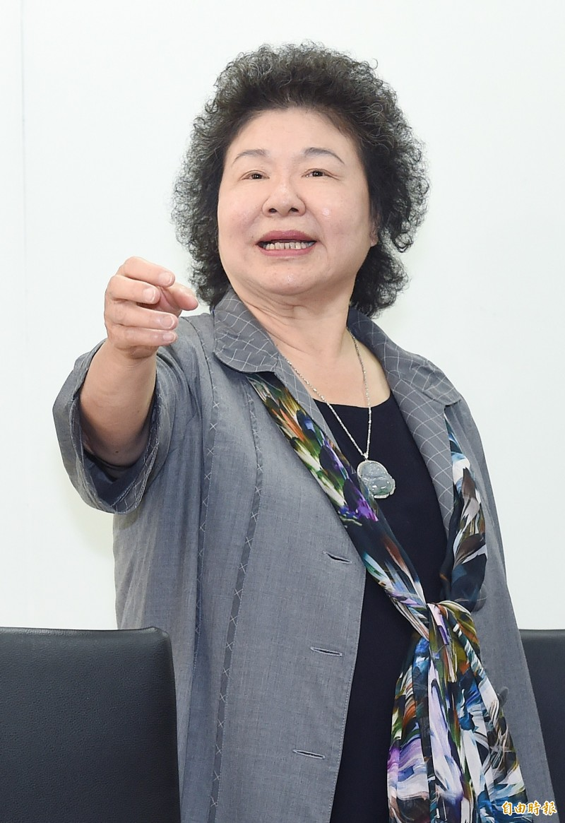 媒體問韓稱「沒錢」,陳菊說:「怎麼會?」市長每年有3到5億元第二預備金,中央對地方的登革熱防治議題也會全力支持。(記者廖振輝攝)