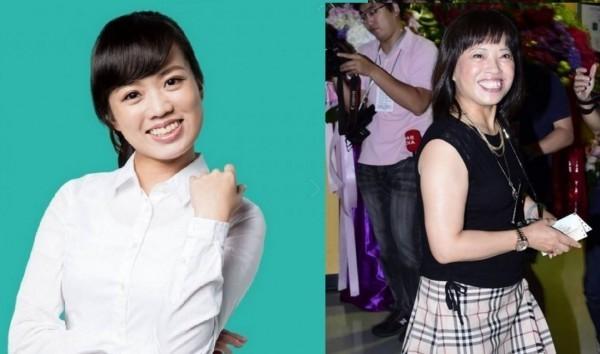 呂孫綾(左)被網友說長得很像蔡依林的媽媽(右)。(合成照)