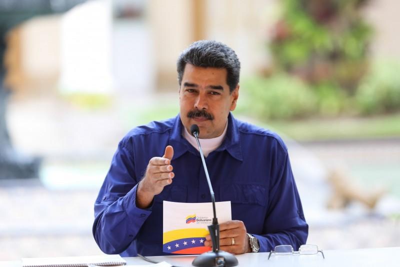 委內瑞拉總統馬杜羅(Nicolas Maduro)在與紅十字會協談後,同意讓步接受國際組織人道救援。(歐新社)