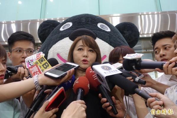 簡余晏受訪談及自己離開柯市府的原因,其實就是「很累」。(資料照)
