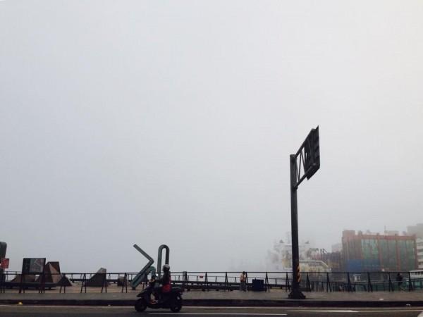 基隆港。(圖擷取自網友海德)