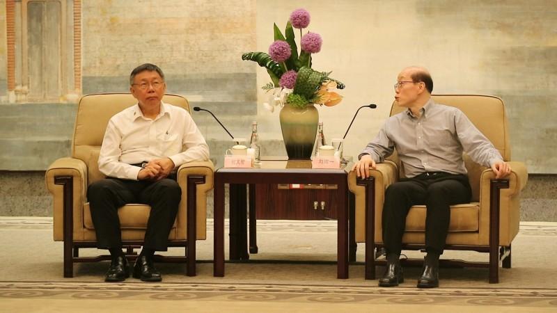 時代力量認為,柯文哲不該繼續對中國「抱持不切實際的幻想與錯誤的期待。」(中央社)