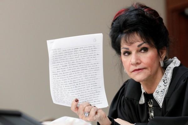 法官阿基利娜(Rosemarie Aquilina)認為,納薩爾的求情信完全沒有悔意,他的性侵舉動經過深思熟慮、具操縱性、狡詐和卑鄙的。(路透)