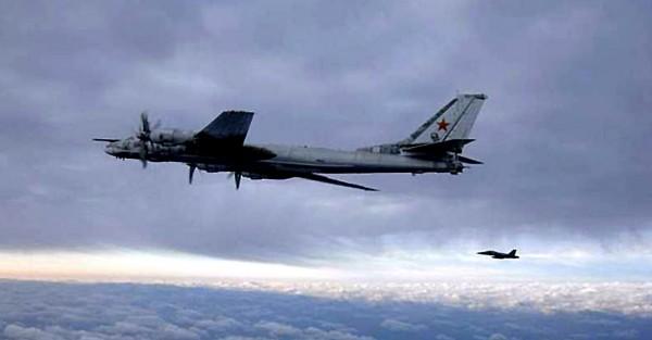 Tu-95從冷戰期間服役至今,現仍保有螺旋槳式飛機飛行速度世界紀錄。(法新社)