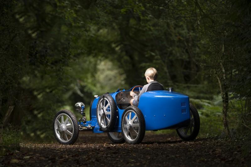 Bugatti Baby II適合14歳以上駕駛。(Bugatti 授權)