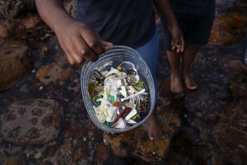 有份最新的研究報告發現,發展中國家每30秒就有1人死於未收的垃圾和塑料汙染所引起的疾病。(歐新社)