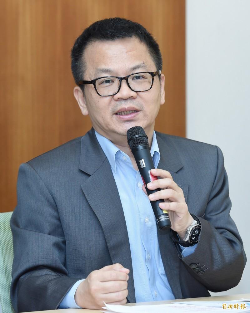 教育部學務特教司司長鄭乃文。(記者廖振輝攝)