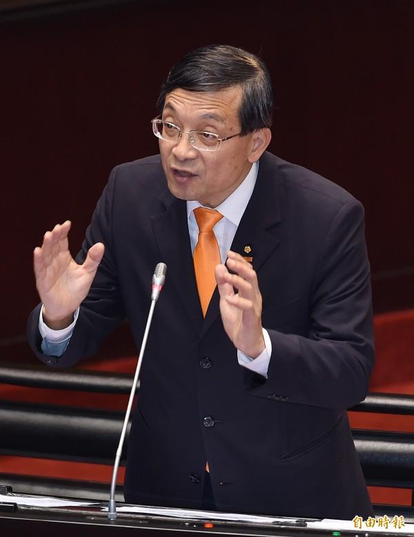 宋楚瑜昨表示,本來第二名是現任不分區立委李桐豪,但李卻婉拒。(資料照,記者廖振輝攝)