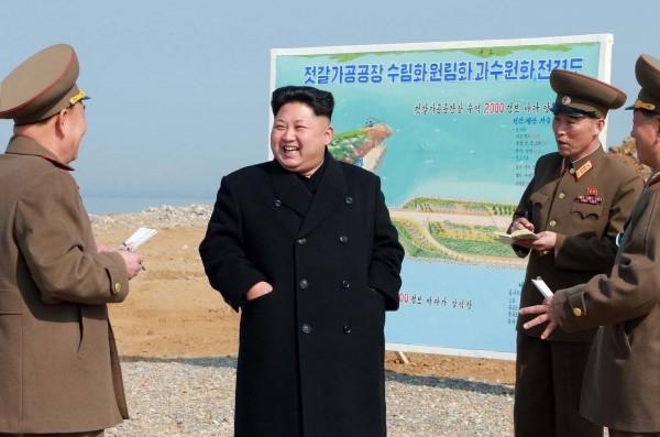 北韓領導人金正恩,最近也加入亞投行,但遭中國拒絕。(法新社,資料照)