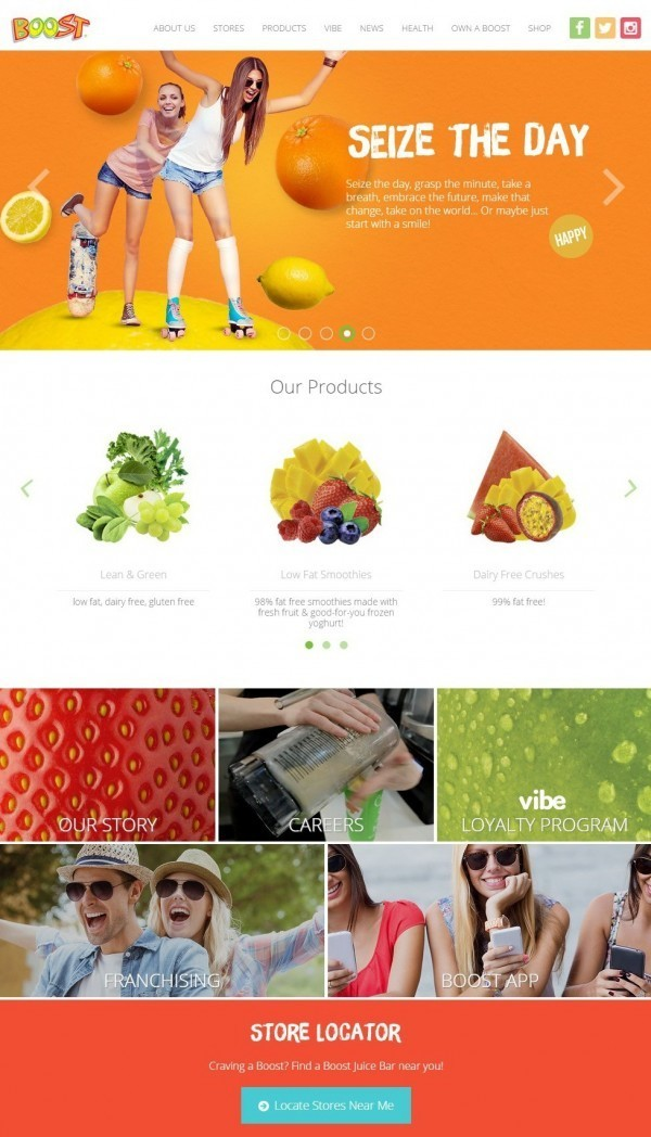 Boost Juice Bars是澳洲第一大果昔品牌,將與亞都麗緻策略合作在台灣開設門市。(圖擷自官網)