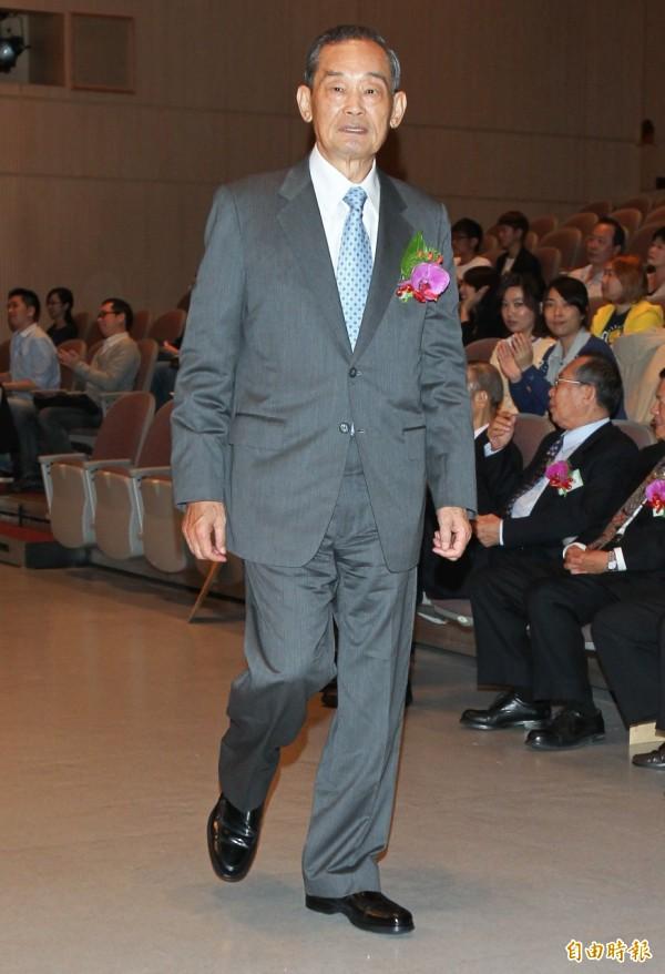 自由報系創辦人林榮三先生28日辭世,台南市長賴清德發表長達500字的長文,悼念「永遠堅定台灣優先的歐里桑」。(資料照,記者王文麟攝)