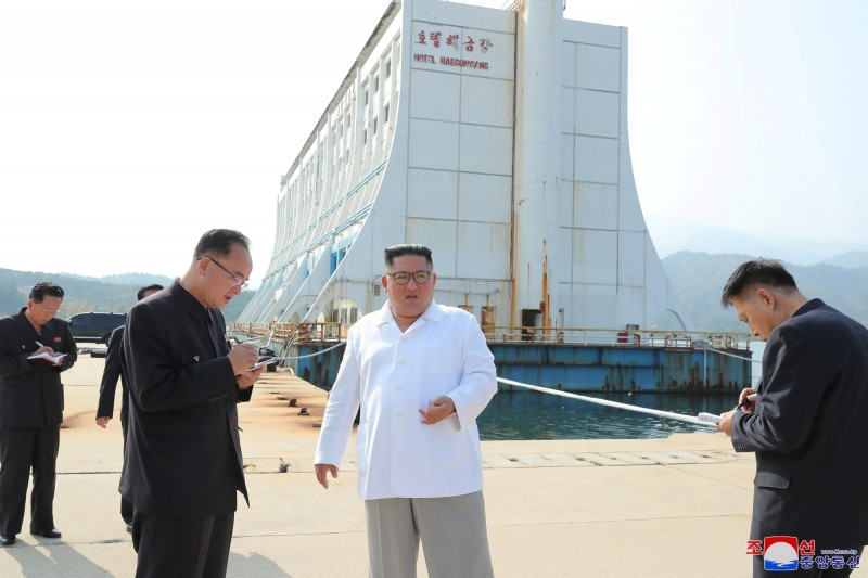 觀光業為北韓主力產業之一。(路透)