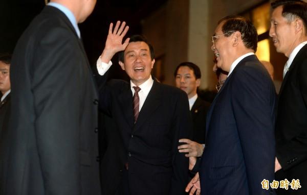 馬英九決定向中國國台辦,提交我國加入亞投行的參與意向書,引起爭議。(資料照,記者林正堃攝)