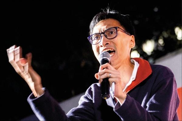 香港立法會議員朱凱迪報名參選村民代表,但遭當局裁定資格不符。(法新社檔案照)
