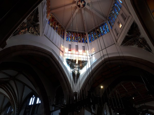 該座教堂最初是在1789年落成,前身為聖約翰傳教士大教堂,被列為二級歷史建築。(圖擷自推特)