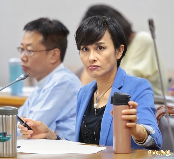 立委邱議瑩日前在群組上發言惹議,表示會在29日對外說明。(資料照,記者方賓照攝)