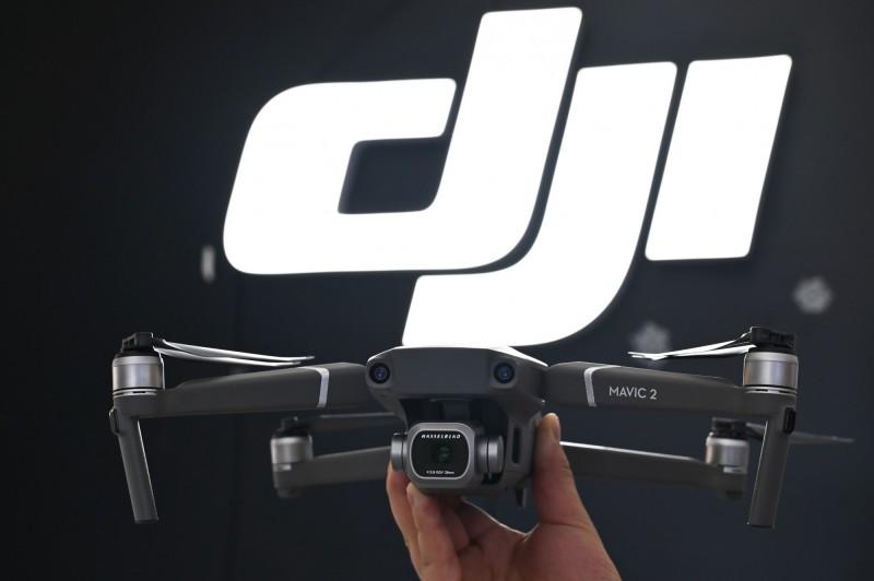 美軍傳出有單位採購中國製無人機,國防部負責採購的官員澄清,強調這些中國製無人機是拿來當「靶機」使用。(法新社)