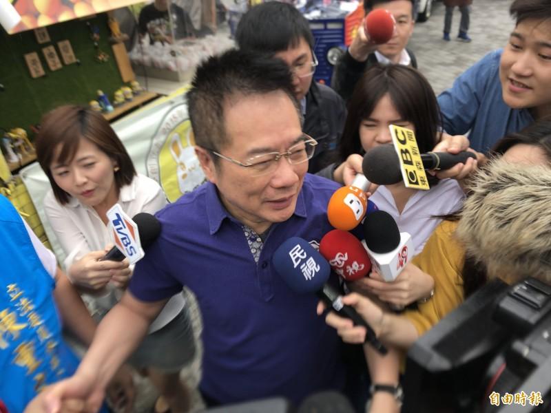 蔡正元表示,願意為了沒先跟韓國瑜知會表達歉意。(資料照)