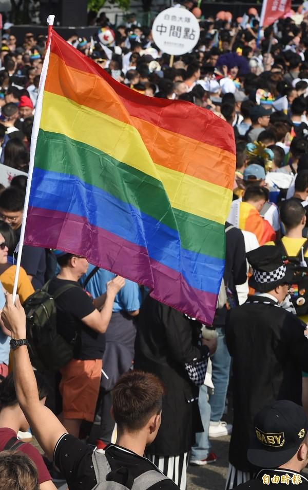 公投結果傾向反對同婚,外媒視為對LGBT族群一大打擊。(資料照)