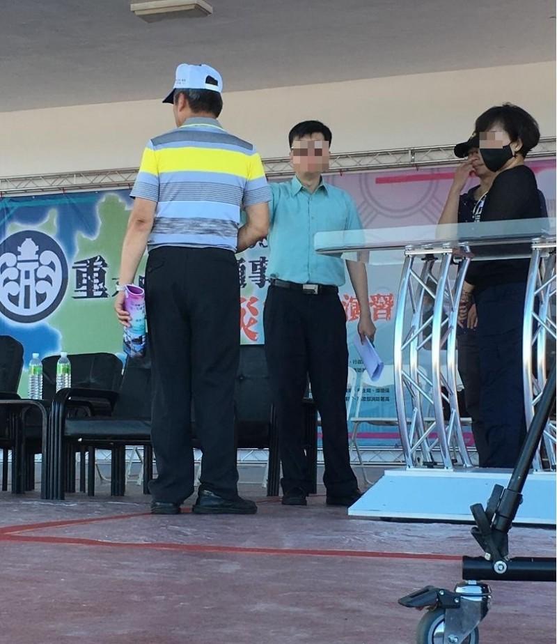 澎湖縣政府警察局高官被爆態度官僚。(民眾提供)