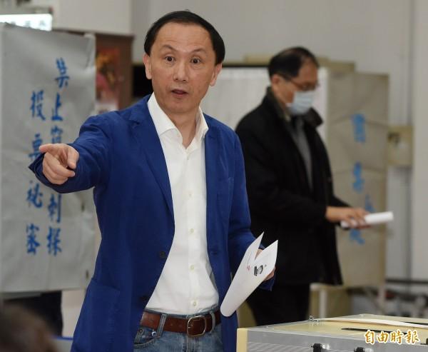 二號候選人李新得票數為6704票,得票率5.42%。(資料照,記者廖振輝攝)