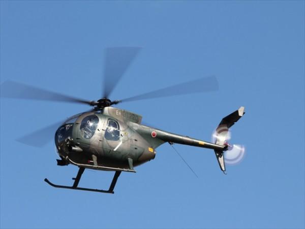 日本自衛隊的直升機今天傳出失聯,圖為同型直升機。(圖擷取自《日本新聞網》)
