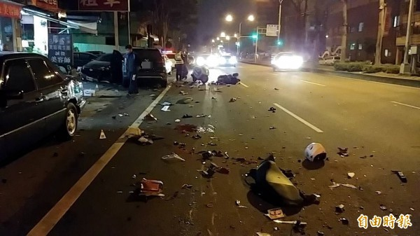 酒駕害人害己,酒駕零容忍已成共識。車禍示意圖。(資料照)