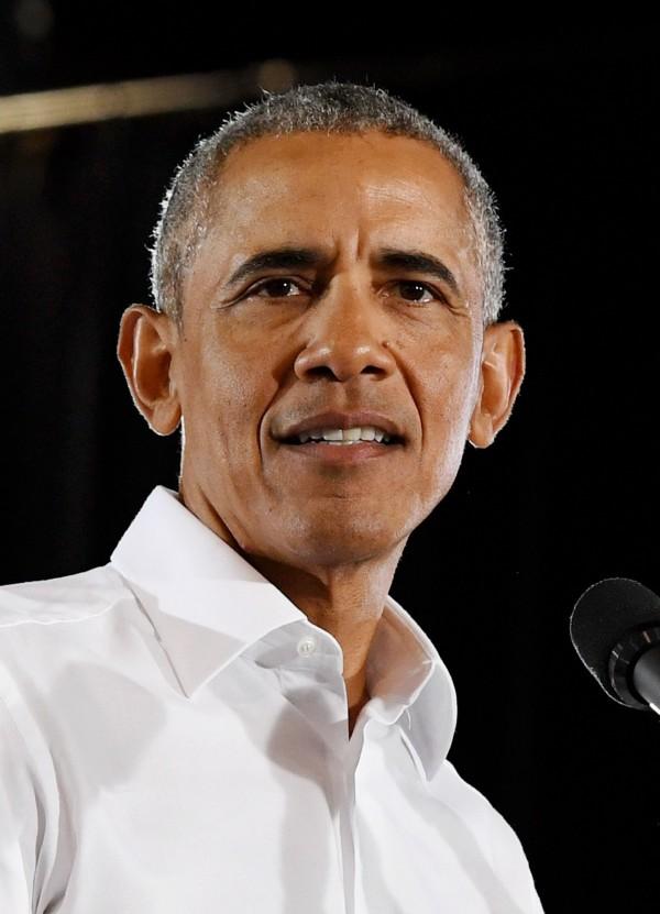 前總統歐巴馬(Barack Obama)位於華盛頓的辦公室也收到類似爆裂物的裝置。(法新社)