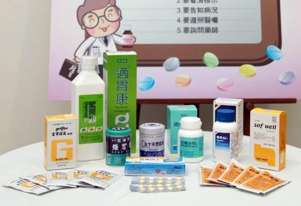 台灣每年吃掉17億顆以上制酸劑胃藥,排列起來約為6693座101大樓,且長期使用可能產生胃酸不足、腹瀉、便秘等副作用。(記者林惠琴攝)