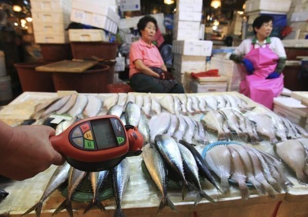南韓在日本311大地震後對福島等八縣水產品實施進口禁令,先前WTO要求南韓修正。不過南韓不服並提出上訴,結果大逆轉,WTO改判日本敗訴。圖為示意圖。(美聯社)