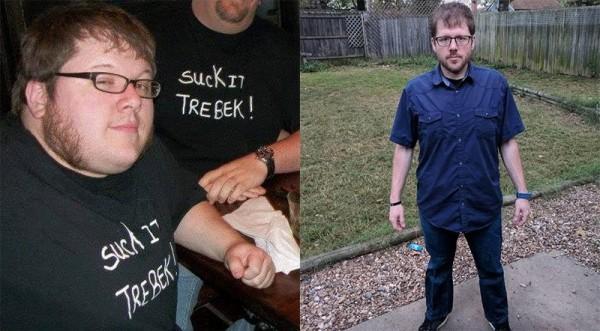 美國一位男子靠著玩《Dance Dance Revolution》電動遊戲減去了56公斤。(圖擷自推特)