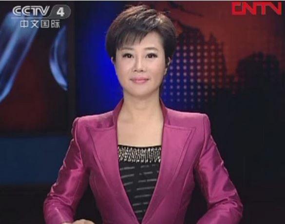 中國央視四台主播葉迎春因為與周永康搞「車震」,於今年1月間被逮捕。(圖擷取自網路)