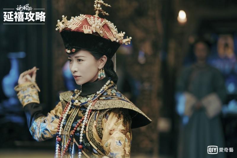中國對台31項措即將滿週年,中國影視業早起已進入寒冬期。圖為《延禧攻略》劇情。(資料照,愛奇藝台灣站提供)
