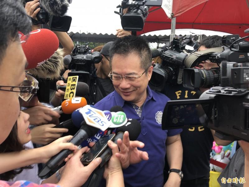 蔡正元爆料說韓國瑜6月1日在台北市凱達格蘭大道的誓師大會,是妙天禪師指示籌辦的。 (資料照)