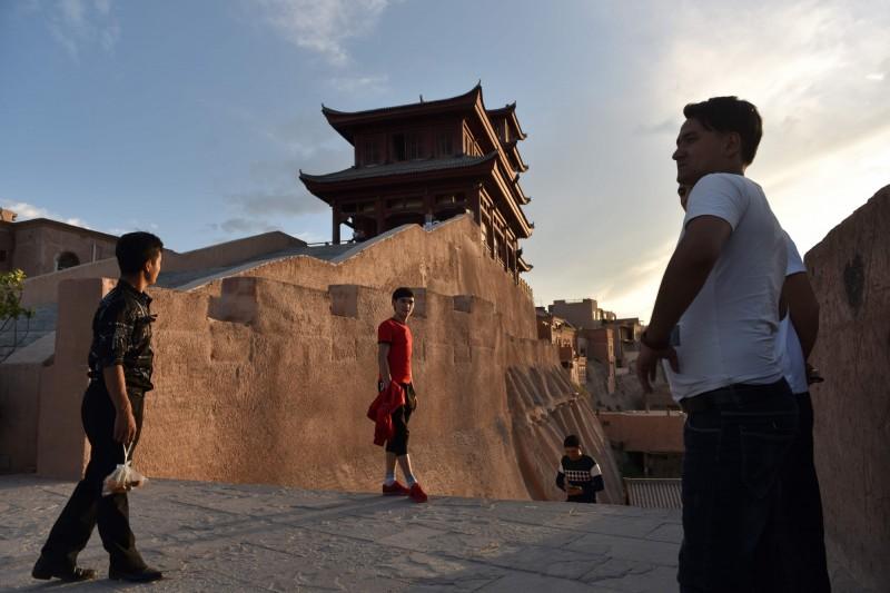 中國國務院,昨發表白皮書,堅稱文中表示,自漢代開始新疆就正式成為中國版圖的一部分,各朝代皆視為故土。(法新社)