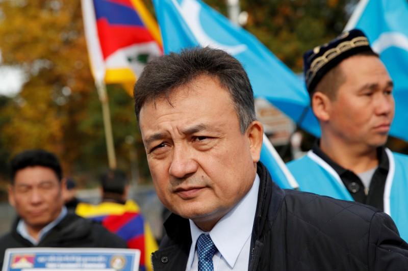 中國宣稱「新疆職業技能教育培訓機構」是基於反恐需要所展開的「去極端化」工作,並以「教育」幫助人們脫離極端思想,誇口這是「中國在反恐領域作出的又一重要貢獻」。圖為世界維吾爾代表大會主席多里坤·艾沙。(路透)
