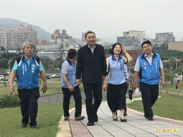 侯友宜代表國民黨參選年底新北市長選舉。(資料照)