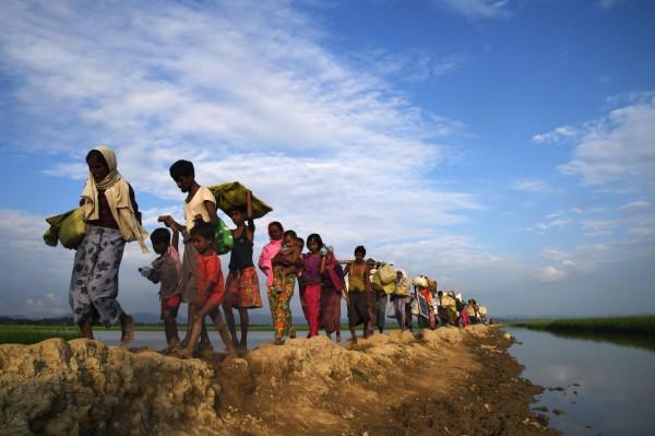 世界銀行警告,除非環境獲得改善,否則預計在2050年可能導致多達1.43億人流離失所,成為氣候難民。示意圖,與本文無關。(法新社)