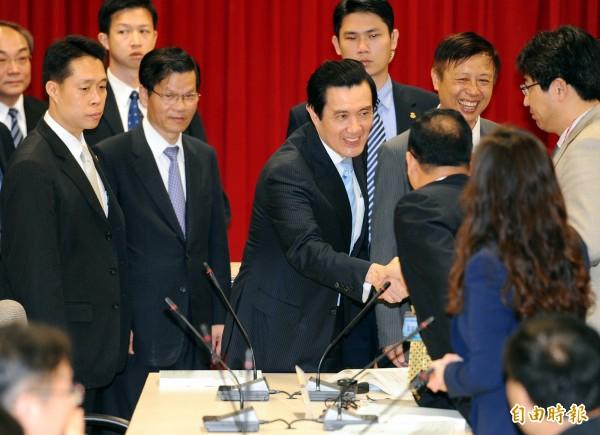 有週刊報導指出,中研院打算依慣例送出3位院長被推薦人讓馬英九總統圈選,傳出馬可能選任香港城市大學校長郭位。(資料照,記者張嘉明攝)