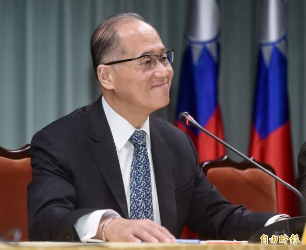 外交部長李大維21日召開記者會,說明聖多美普林西比與台灣斷交一事。(記者簡榮豐攝)