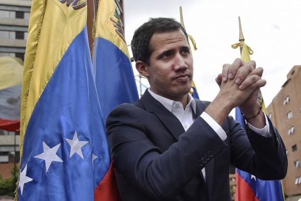 歐洲9個國家今天宣布,承認反對派領袖瓜伊多(見圖)為委內瑞拉臨時總統。(彭博)