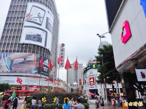 中國廣州傳出女律師遭脫衣圍毆事件,圖為廣州市。(資料照)