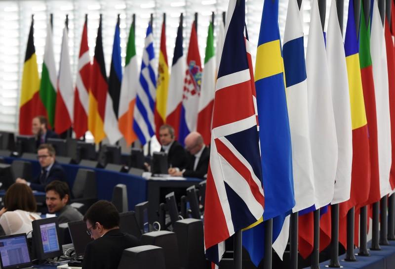 德國《畫報》民調顯示,歐洲極右翼政黨可能在5月舉行的歐洲議會選舉中大有斬獲。(法新社)