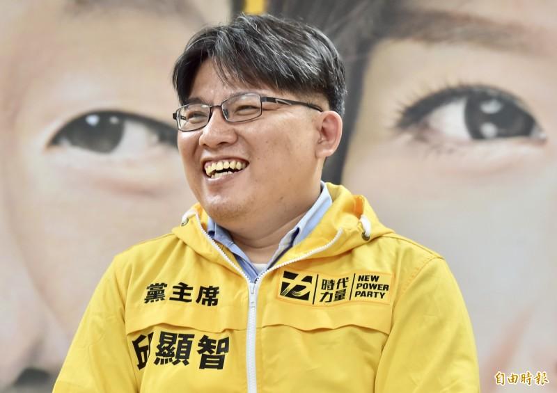 時代力量黨主席邱顯智昨晚在臉書轉貼黃國昌的臉書文,更透露揭發此案的「深喉嚨」其實就是邱妻黃琬婷。(資料照)