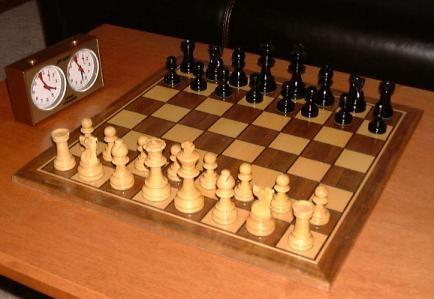 國際象棋(西洋棋)自下學期起,列俄國學生必修課。(圖擷取自網路維基百科)