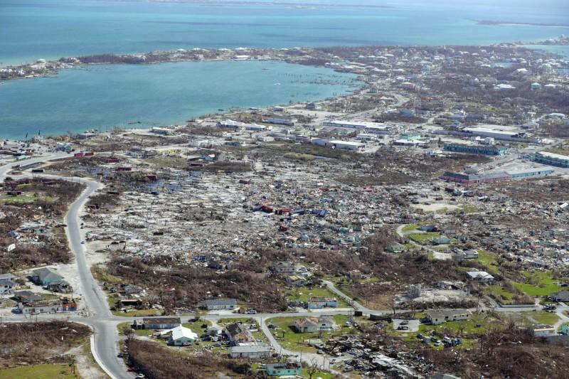 本月初颶風多利安(Dorian)重創加勒比海國家巴哈馬,造成50人死亡,災民還來不及重建家園,隨即又一熱帶風暴來襲。(美聯社)