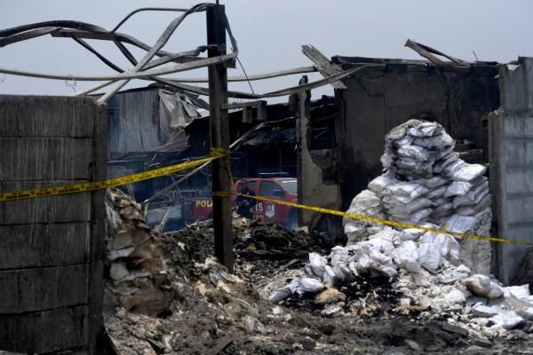 這場大爆炸造成48名員工罹難,數十人受傷,醫院預估死亡人數將再攀升。(路透)